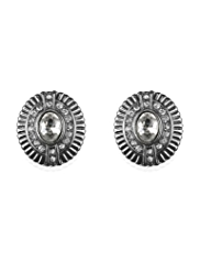 M&S Collection Diamanté Oval Stud Earrings