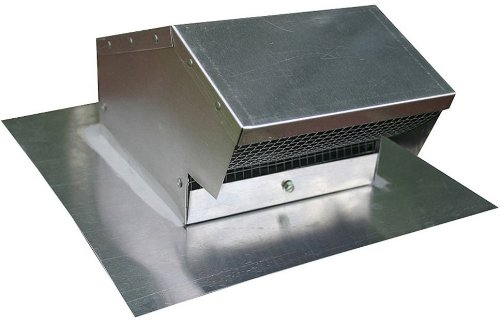 Speedi-Products EX-RCAF 04 4-Inch Diameter Aluminum Roof Cap Flush