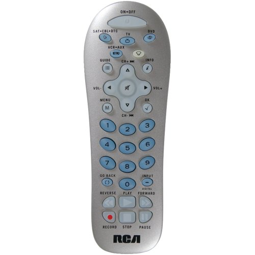 Rca Rcr412sir 4-device Backlit Universal Remote