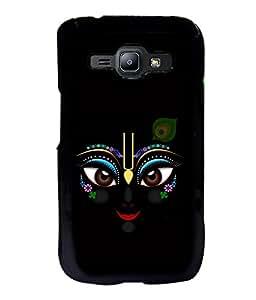 printtech Lord Krishna Beautiful Eyes Back Case Cover for Samsung Galaxy J1::Samsung Galaxy J1 J100F