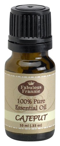 Cajeput 100% Pure, Undiluted Essential Oil Therapeutic Grade - 10 ml. Great for Aromatherapy