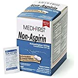 Medique Products 80348 Medi-First Non-Aspirin Tablets, 250 Tablets, 125 X 2