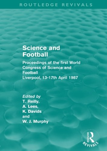 science and football Science and soccer represents a unique resource for students and academics in sports science and physical education science and football vi.