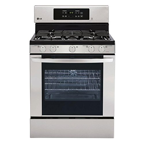 LG-LRG3081ST-30-Freestanding-Gas-Range-with-54-Cu-Ft-Oven-Capacity-in-Stainless-Steel