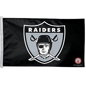 Oakland Raiders Big 3x5 Flag (Throwback) by WinCraft
