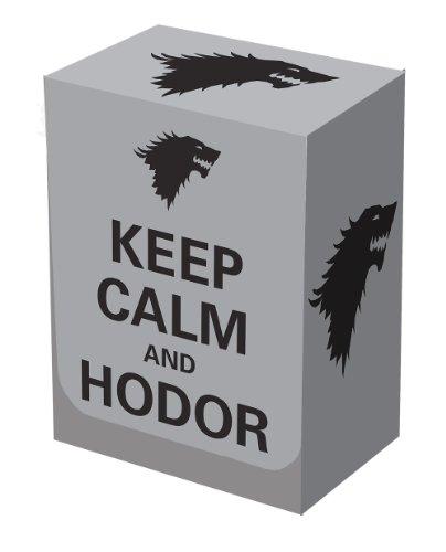 Deck Box Keep Calm and Hodor Legion Supplies - 1