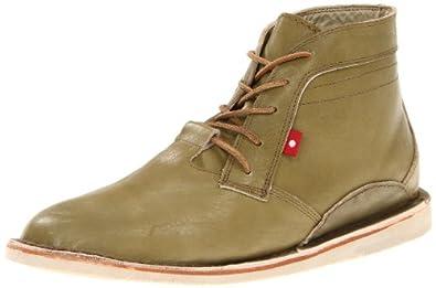 Oliberte Men's Zimbo Chukka Boot,Olive/Tan Pullup,40 EU/7 M US