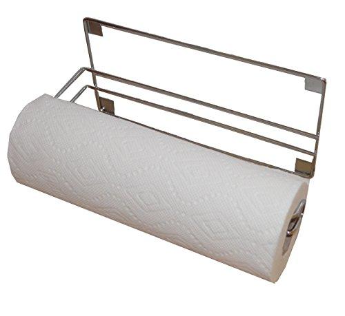magnetic chromed paper towel roll holder 11 5 w x 4 d x h home garden kitchen dining. Black Bedroom Furniture Sets. Home Design Ideas