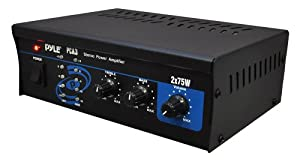 Pyle - Mini 2x75W Stereo Power Amplifier - PCA3 by Pyle Home