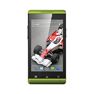 XOLO A500S IPS  GREEN  available at Amazon for Rs.5699