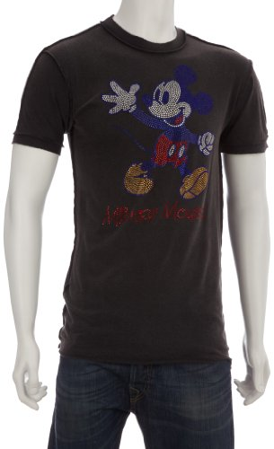 Disney Couture DC500 Printed Men's T-Shirt Charcoal Small