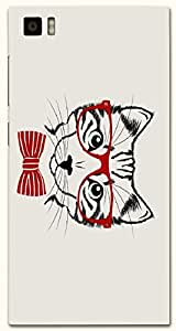 Noticeable multicolor printed protective REBEL mobile back cover for Xiaomi Mi 3 D.No.N-T-4799-XM3