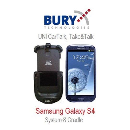 Bury UNI System 9 supporto di carico Samsung Galaxy S4 - adatto per Samsung Galaxy S4, samsung Galaxy GT-I9505