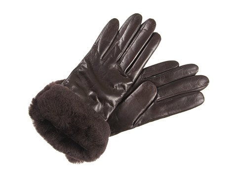 UGG UGG Australia Women's Suede Shearling Shorty Gloves