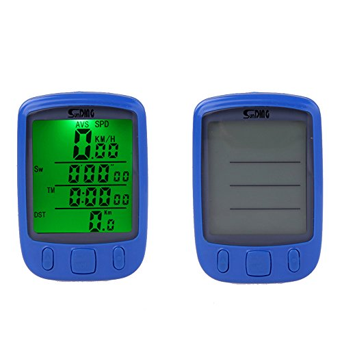 Docooler® Wireless Bike Bicycle Cycling Computer Odometer S