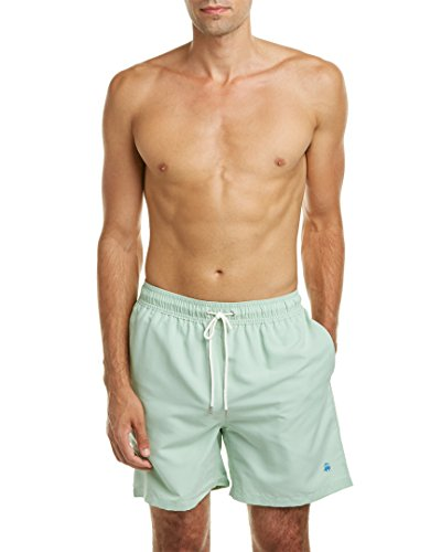 Brooks Brothers Mens Montauk Swim Trunk, L, Green (Ties For Men Brooks Brothers compare prices)