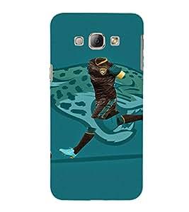 EPICCASE footballing Mobile Back Case Cover For Samsung Galaxy A8 (Designer Case)