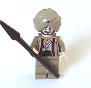 Lego Prince of Persia Mini Figure - Sheik Amar (with Spear)