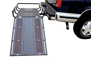 Pro Series 5801600 Moover Black Transporter System Cargo Carrier with Ramp by Pro Series