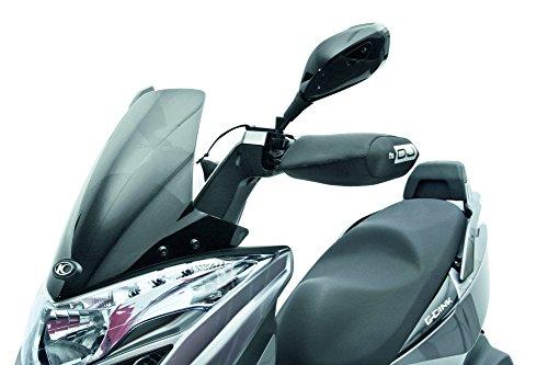 OJ JC0100 Mini Pro Hand Coprimanopole Universale in Tessuto Tecnico per Moto e Scooter, Nero, Taglia Unica