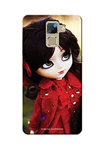 Sowing Happiness Printed Back Cover for Huawei Honor 7