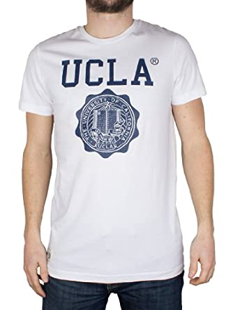 UCLA - Blanc Powell T-Shirt - Homme - Taille: XL