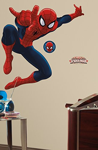 Ultimate Amazing Spiderman Wall Decal