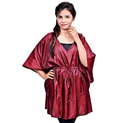 Etti Be Trendy Women's Kaftan (ES205_Red_Free Size)