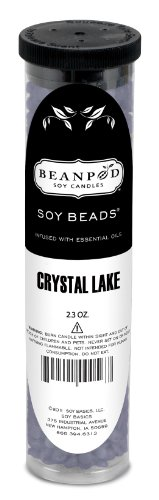 Beanpod Candles Crystal Lake, Soy Beads, 12 Count