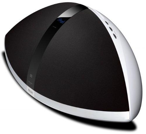 Teac sr 100ise radio fm da tavolo con dock per ipod lettore cd e presa usb bianca - Lettore mp3 da tavolo ...