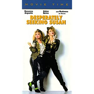 Desperately Seeking Susan Rosanna Arquette Madonna