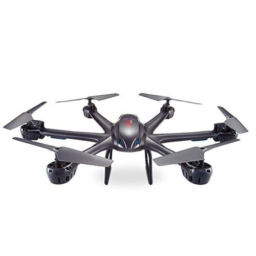 GizmoVine-MJX-X600-RC-Quadcopter-Drone-Quadrocopter-6-Achsen-GYROSENSOR-Hexacopter-24G-4-Kanal-Helikopter-RTF-RC-Drone-Fernbedienung-mit-kopflosen-Modus-automatische-Rckkehr-3D-Schlsselrolle-FPV-Echtz