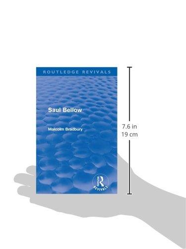 Saul Bellow (Routledge Revivals)