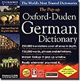 Product B0002BQQXM - Product title POP UP OXFORD GERMAN / ENGLISH DICT