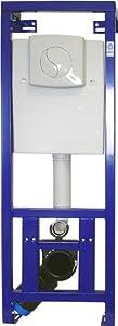 NMT, WC Vorwandelement mit Betätigungsplatte, Schallschutzset und Testpäckchen WCReinigertabs  BaumarktÜberprüfung und weitere Informationen