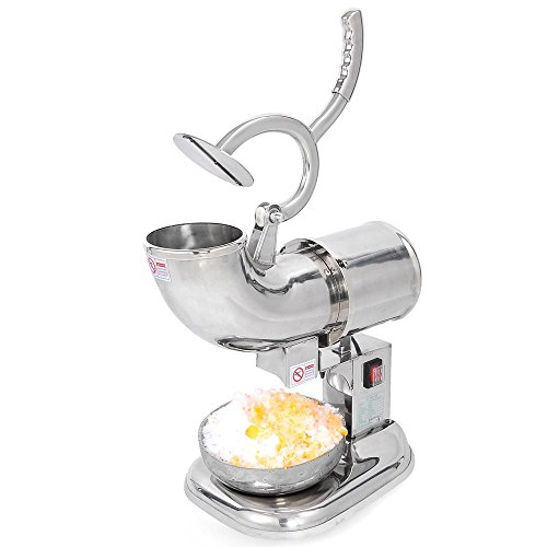 Countertop Electric Ice Cream Maker : ... Countertop Electric Ice Shaver Maker Crusher Snow Cone Machine, Silver