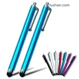 2xFirst2savvv blue Touch screen stylus pen for iPhone 5C/5S & Samsung galaxy note 3,Galaxy NotePRO & AMAZON Kindle fire HD 16GB 8.9&apple iPhone 5,apple ipod touch 5th generation, ipad 4 with retina display ,Apple iPad air & Samsung galaxy S4,galaxy S4 M