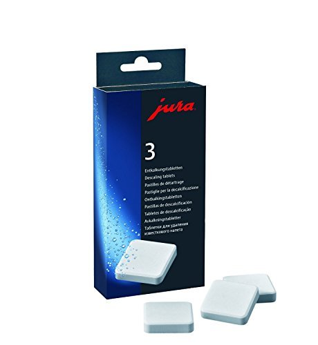Jura Decalcifying/Descaling Tablets (9 tablets) (Jura Capresso Descaling Tablets compare prices)