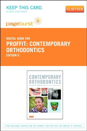 Contemporary Orthodontics - Pageburst E-Book on VitalSource (Retail Access Card), 5e (Pageburst Digital Book)