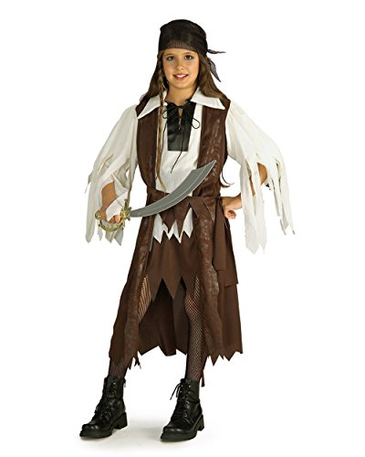 Rubie's Costume Co Girls Caribbean Pirate Queen Costume