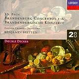 Bach - Brandenburg Concertos / Britten, ECO cover image