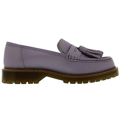 Bronx Womens Loafers 65339-D Lilac Leather Shoes 41 EU