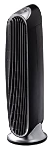 Low Price Honeywell HFD-120-Q Tower Quiet Air Purifier with Permanent IFD Filter, Black