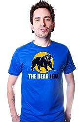 The Bear Jew T-shirt Funny Inglorious Humor Bastards Tee Mens New Retro Cool