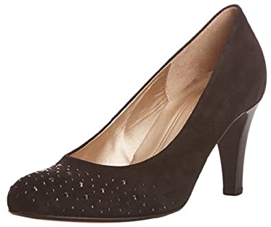Gabor Shoes 95.212.17 Damen Pumps, Schwarz (schwarz +Strass),Größe: 35.5 (UK 3)