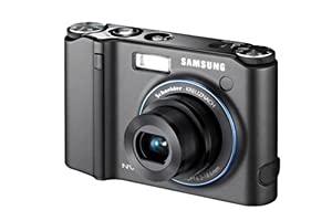 Samsung NV30 8.1MP Digital Camera with 3x Optical Image Stabilization Zoom (Black)