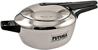 Futura Stainless Steel Pressure Cooker, 4.0 Litre from Futura