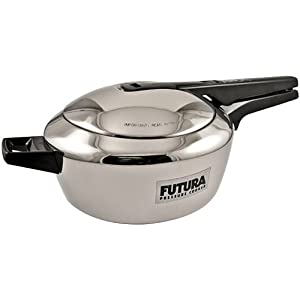 Stainless Steel Futura Pressure Cookers 4 liter