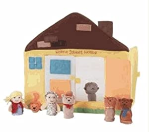 Manhattan Toy Educational Products - Pappa Geppetto's House Finger Puppet Theater - from Manhattan Toy Educational Products