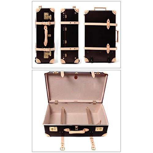 グローブ トロッター サファリ スーツ ケース 30 inch GLOBE TROTTER SAFARI Mサイズ 01.C.ブラウン×ナチュラル フリー [並行輸入品]